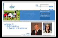 clarkston chamber- ecommerce website