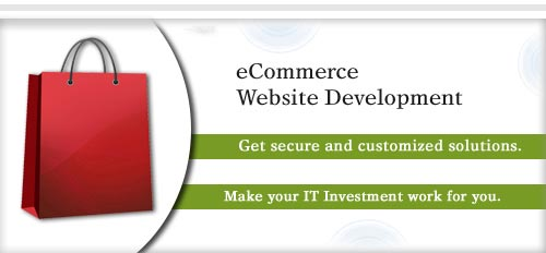 eCommerce Website Development Service Offered Banner
